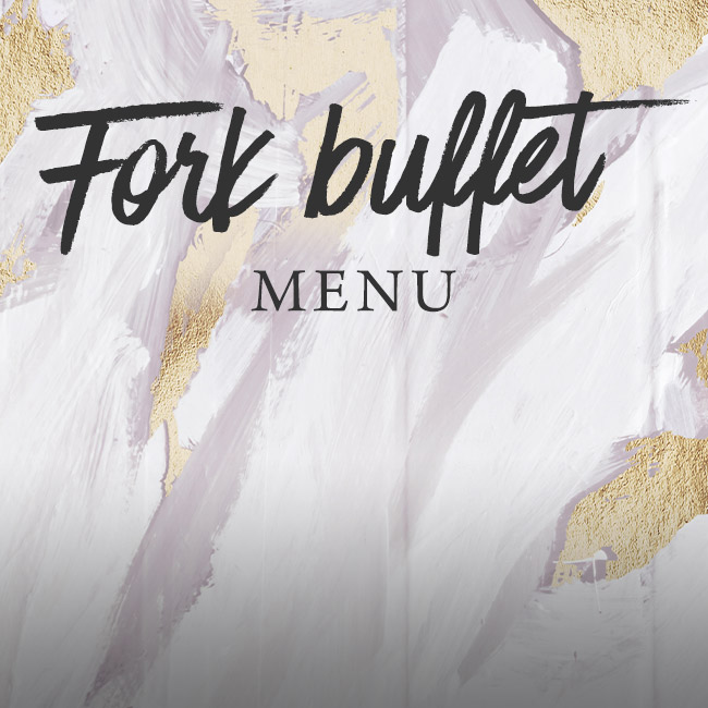 Fork buffet menu at The George & Dragon