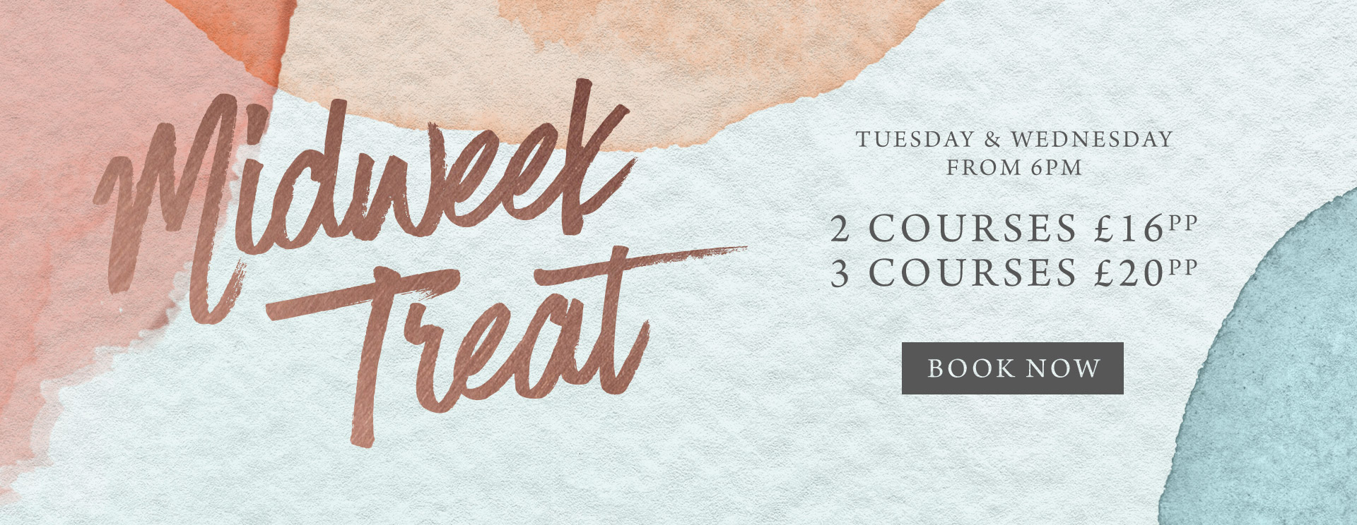 Midweek treat at The George & Dragon - Book now