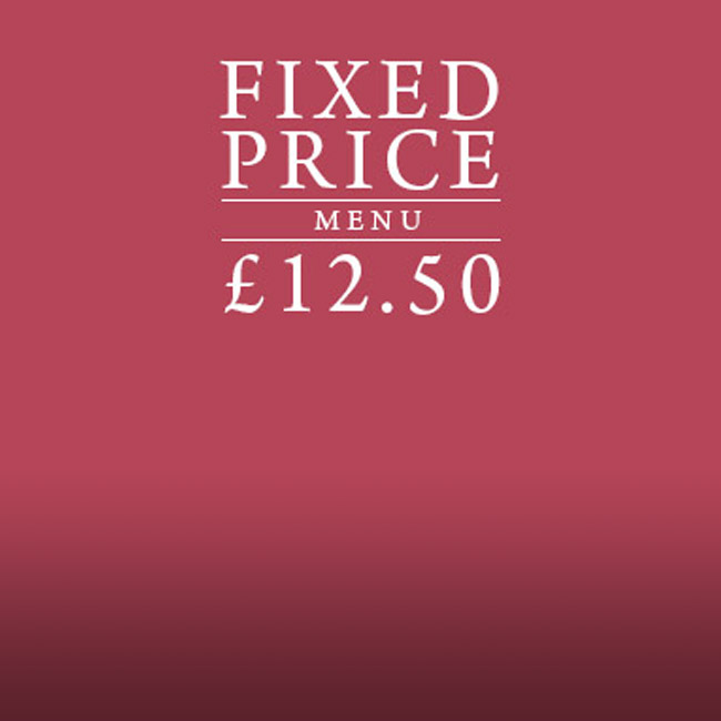 Fixed Price Menu at The George & Dragon
